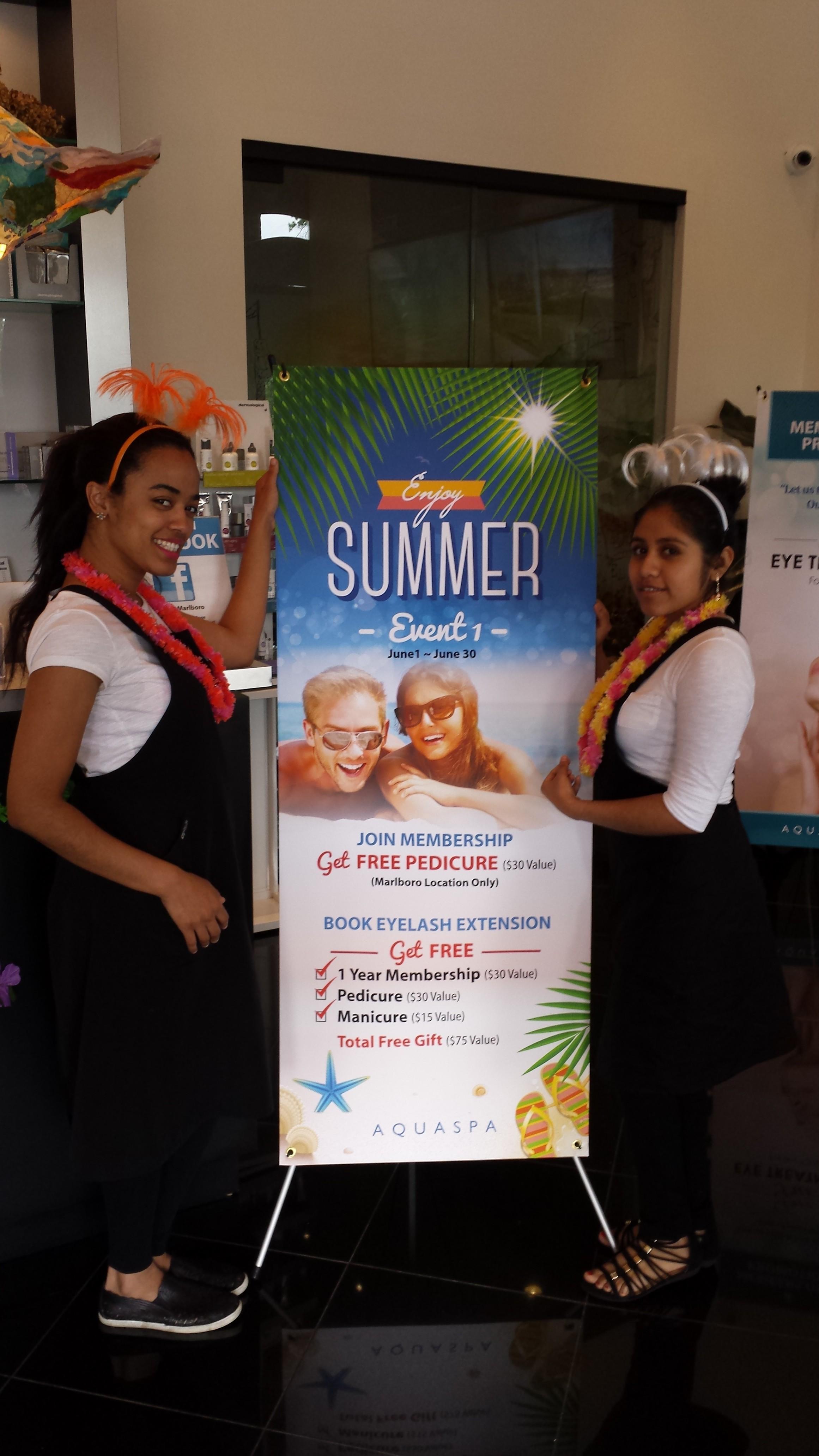 AQUASPA Summer Event